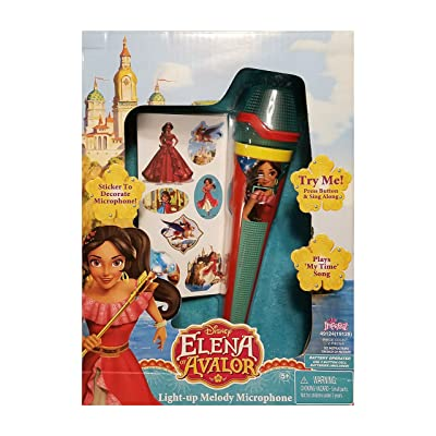 Imperial Elena of Avalor Light-up Melody Microphone: Toys & Games [5Bkhe0300926]