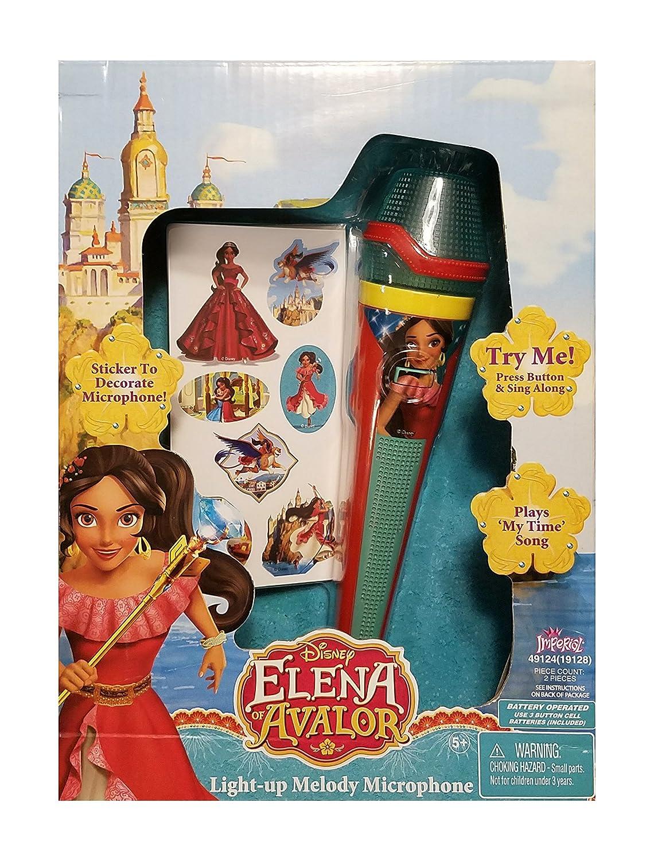 Imperial Elena de Avalor Light-up de la melodía micrófono