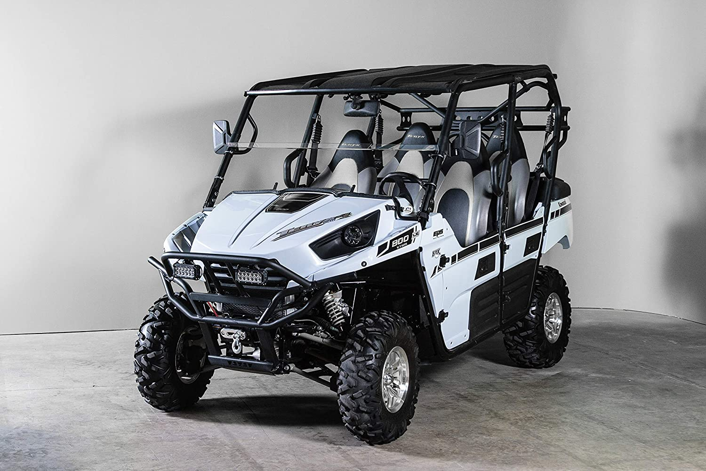 4 Seater Made in the USA!. Model 2012-2014 Kawasaki T4 Half UTV Windshield 3//16