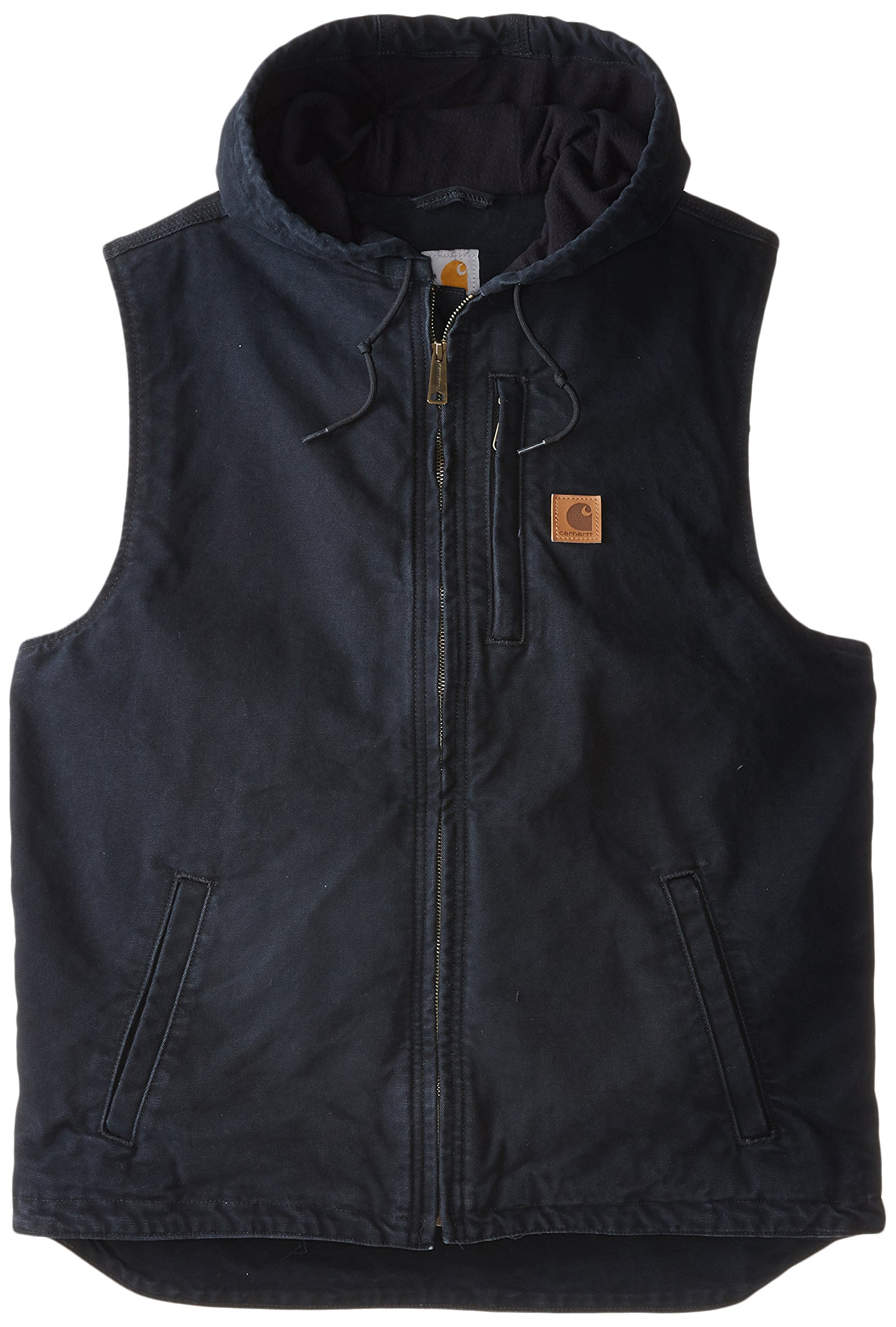 Carhartt Men's Big & Tall Knoxville Vest,Black,X-Large Tall