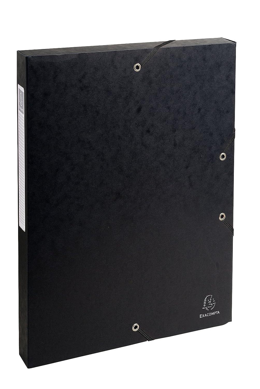 Nero 24x32 cm Exacompta 50301E Scatole Archivio
