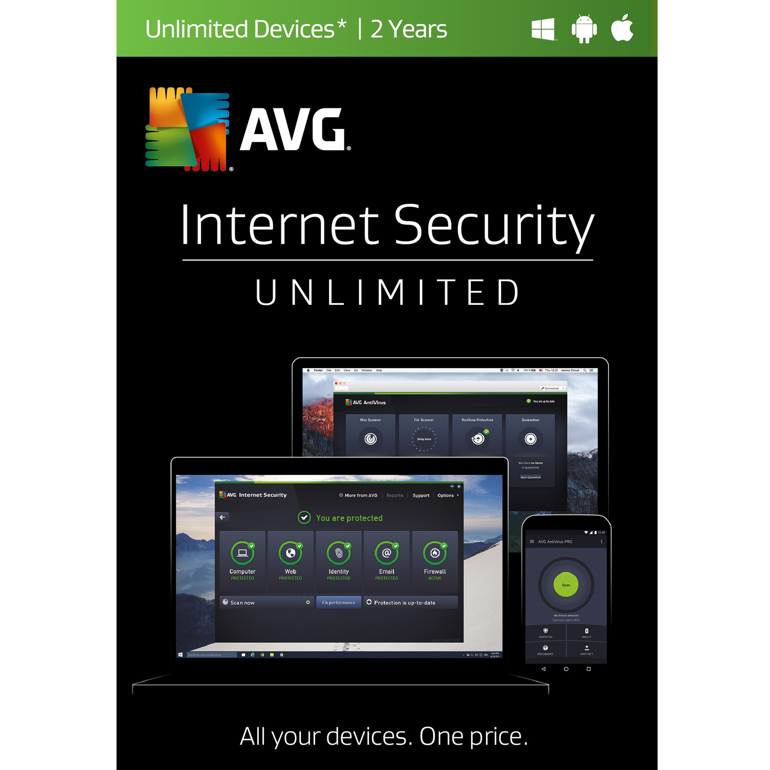 Avg pro with working serial 2018 latest