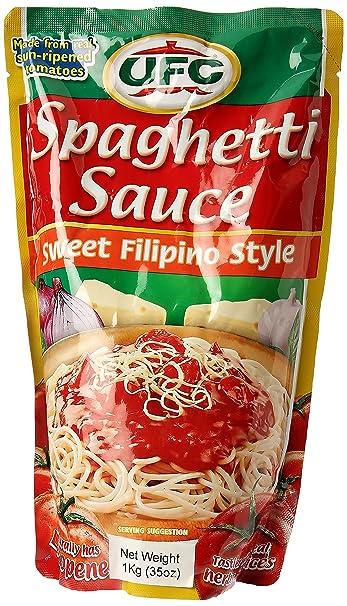 Ufc Spaghetti Sauce Sweet Filipino Blend 1kg Doypack