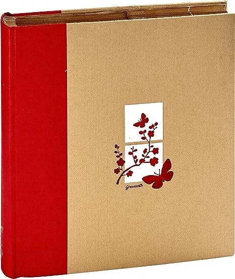 Album photo Kraftty Rouge 500 photos pochettes