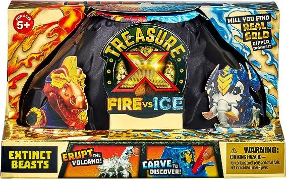 TREASURE X Tesoro X S4 Paquete de Bestias Extintas Fuego vs Hielo ...
