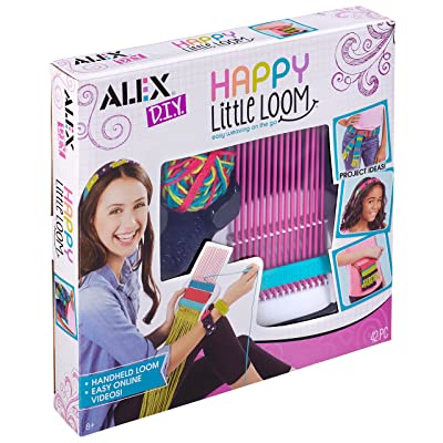 Alex DIY Happy Little Loom Kit Kids Art and Craft Activity: Toys & Games