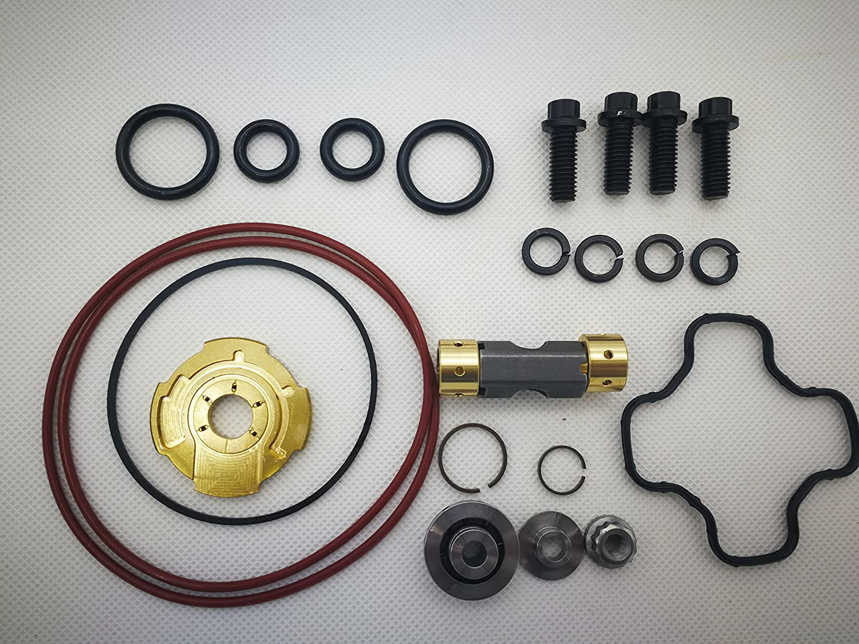 CHENLEE TURBO Rebuild Repair Kit for 94-03 Powerstroke 7.3L Turbo Upgraded 360/° Thrust for Garrett GTP38/&TP38 Turbo