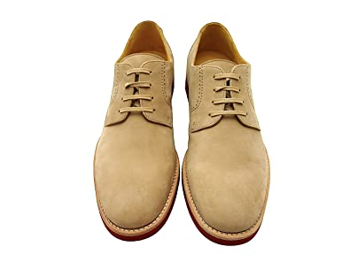 Sir Men's Leather Dress Shoes - Dillon Beige Slip-On Leather Loafers