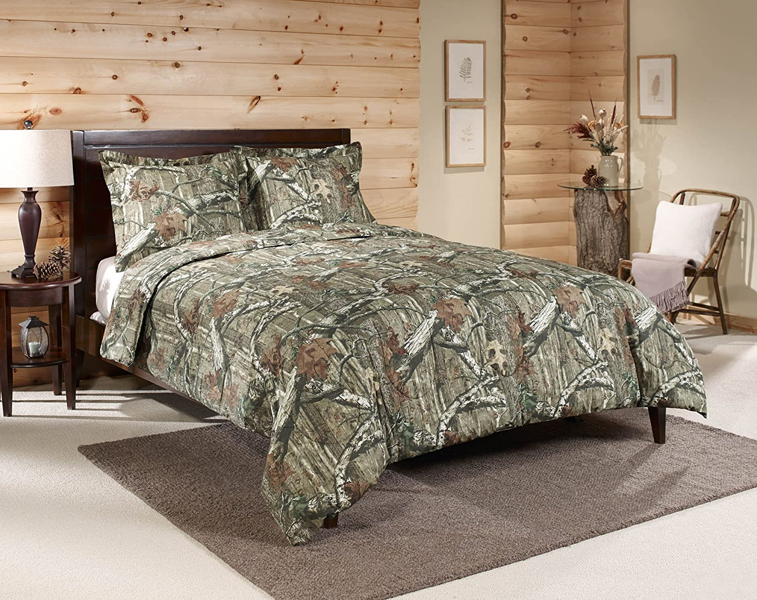 Mossy Oak Break-Up Infinity Mini Comforter Set, Twin