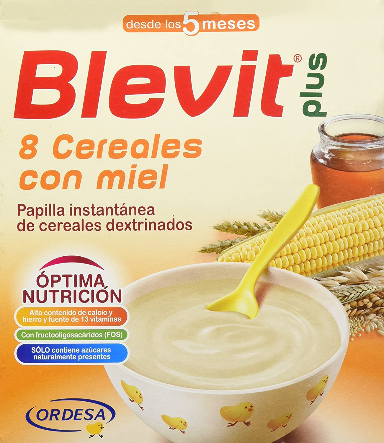 BLEVIT PLUS 8 CEREALS HONEY 700G BIF CSTLL 101830