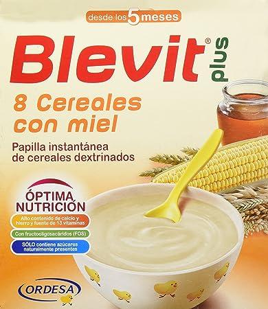 BLEVIT 8 CEREALES CON MIEL 600 GR