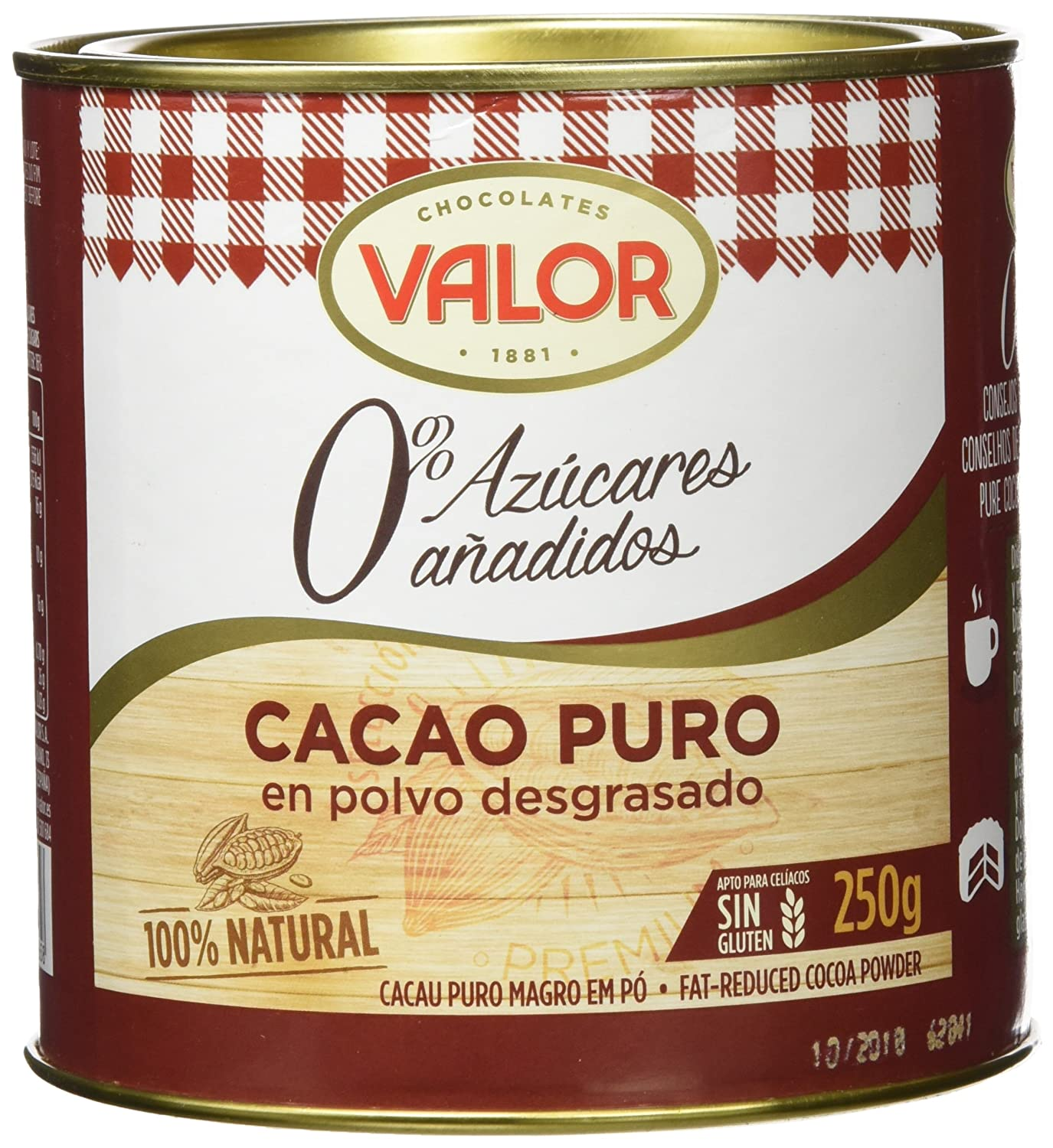 Chocolates Valor - Cacao Puro
