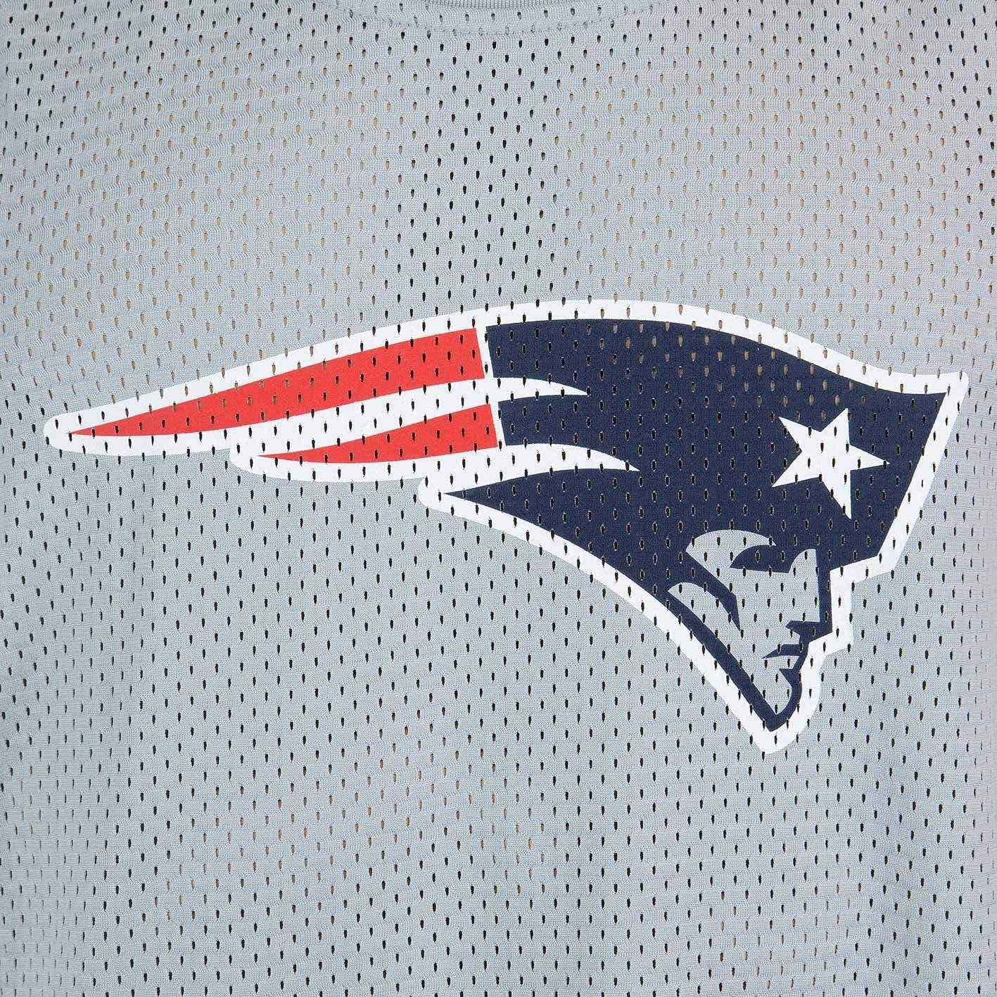 New Era New England Patriots Logo Mesh Tank