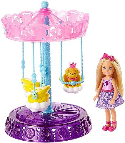Barbie Dreamtopia Chelsea Doll Swing Playset