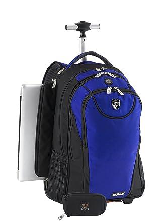 Amazon.com | Heys USA Luggage Epac05 Rolling Backpack With Side ...