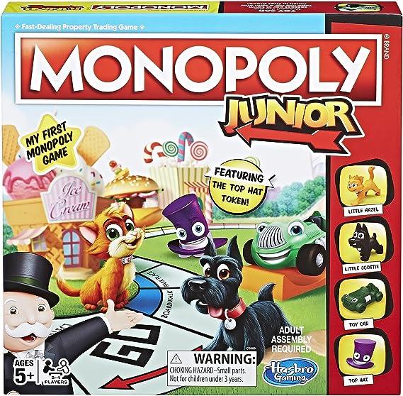 Monopoly Junior (Exclusivo de Amazon), Color versión Original (Hasbro-Import C3889): Amazon.es: Juguetes y juegos