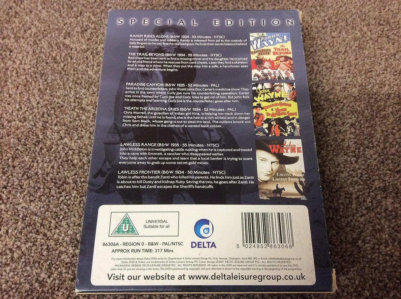 John Wayne-Special Edition: Amazon co uk: DVD & Blu-ray