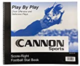 Cannon Sports Football Scorebook