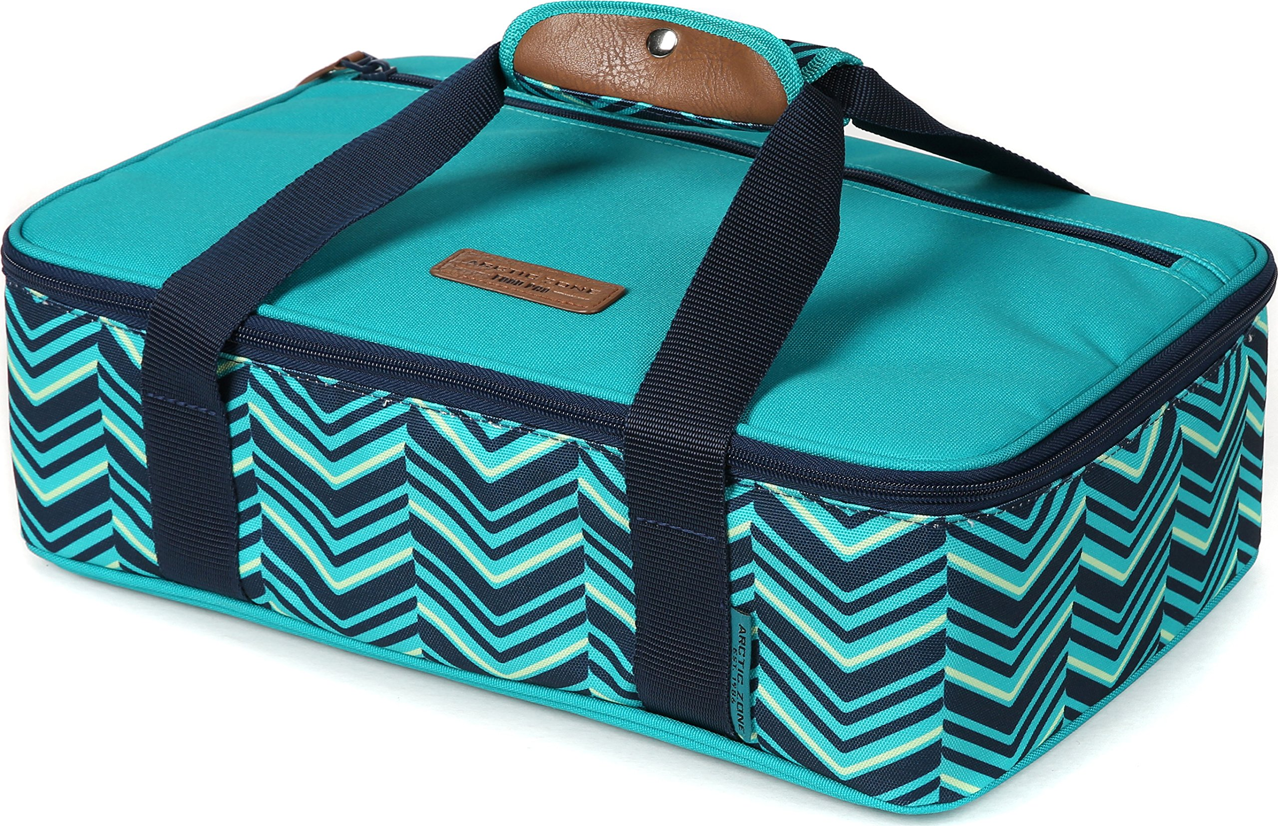 Arctic Zone 2008IL008987 Thermal Insulated Hot/Cold Food Carrier, Teal by Arctic Zone