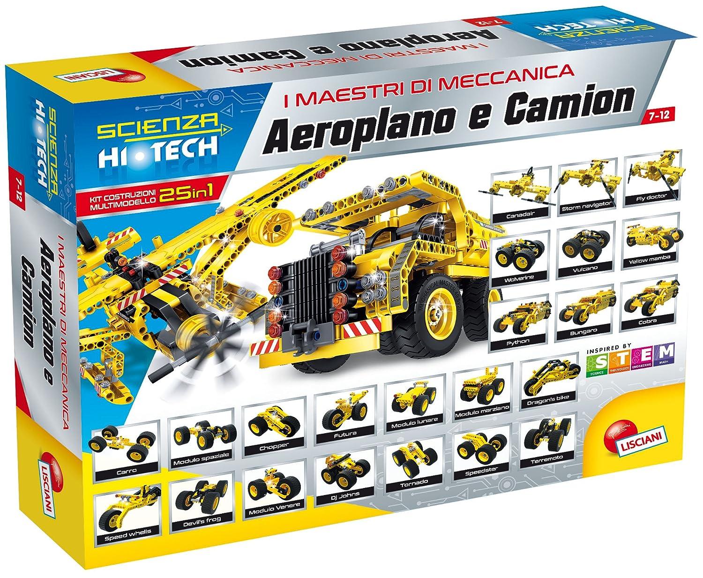 Unbekannt Wissenschaft Hi Tech Baukasten Mini mit LED Flugzeug und LKW Lisciani 66940.0