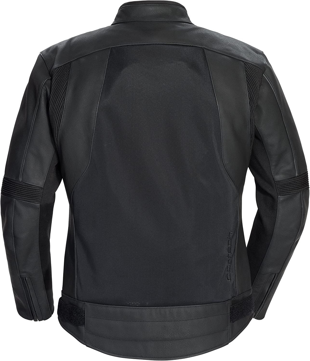 Cortech Mens Piuma Leather Jacket Black, Large