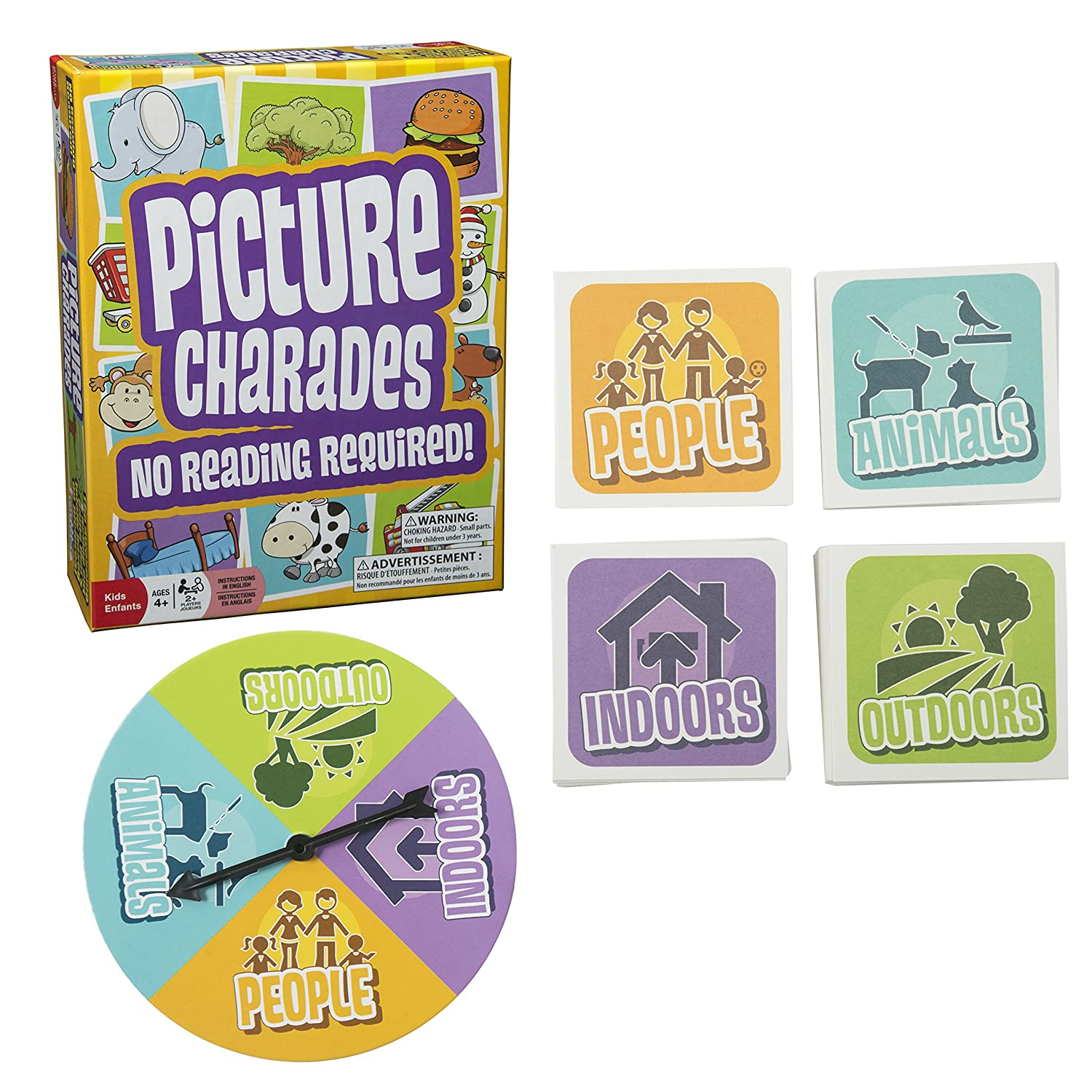 Amazon Picture Charades for Kids No Reading Required An
