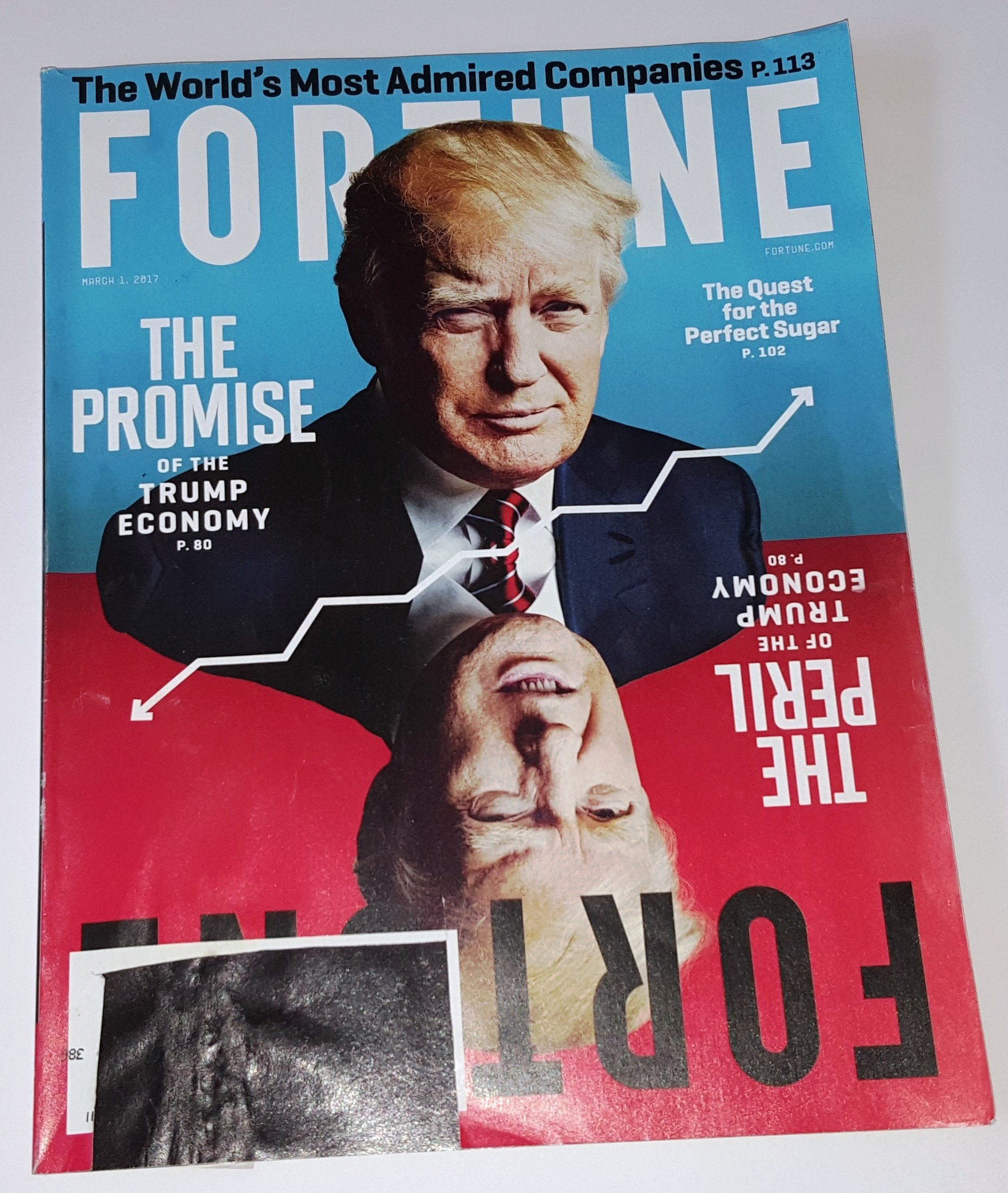 Download Fortune March 1, 2017 The Promise/Peril of the Trump Economy ebook
