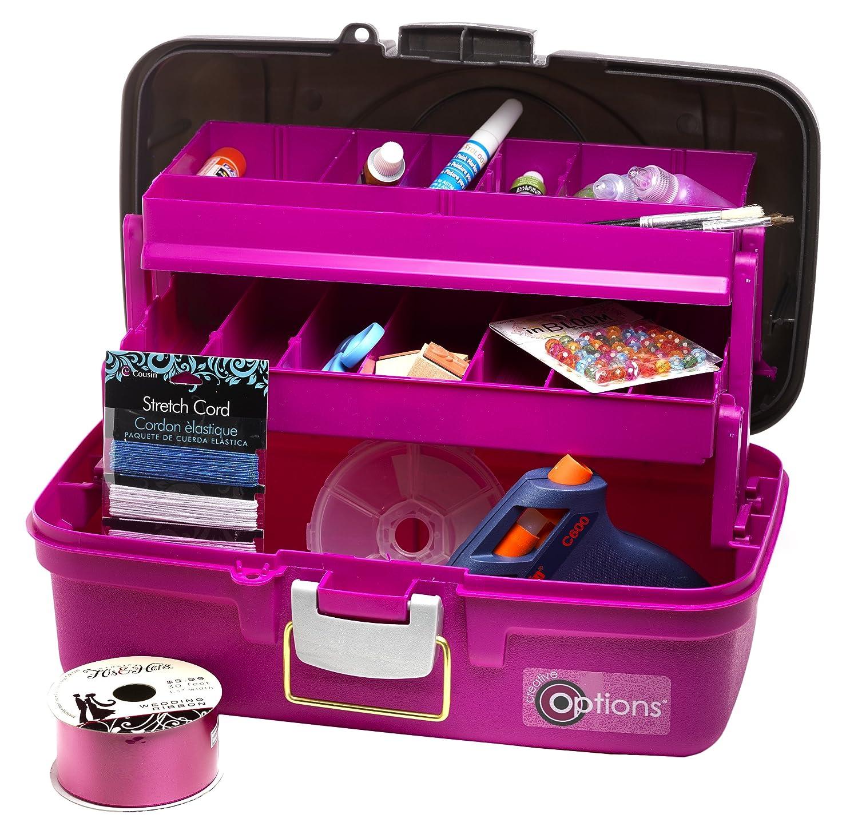 Amazon Com Creative Options 2 Tray Craft Box