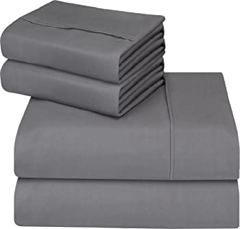 Utopia Bedding 4-Piece Queen Bed Sheet Set