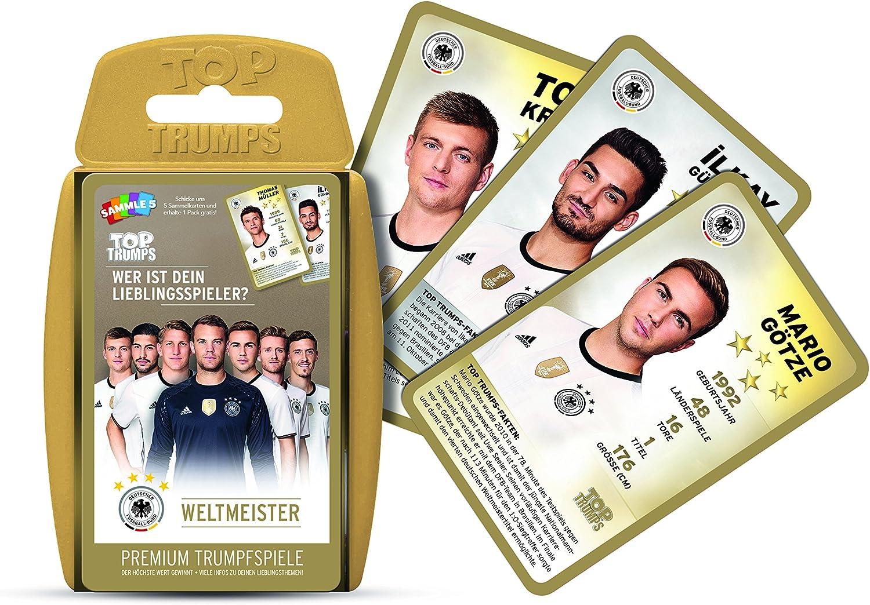 Top Trumps DFB Team für WM 2014 Quartett Kartenspiel Fussball National Manschaft