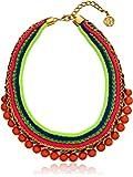 Ben-Amun Jewelry Woven Ibiza Collar Necklace, 11''+2'' Extender