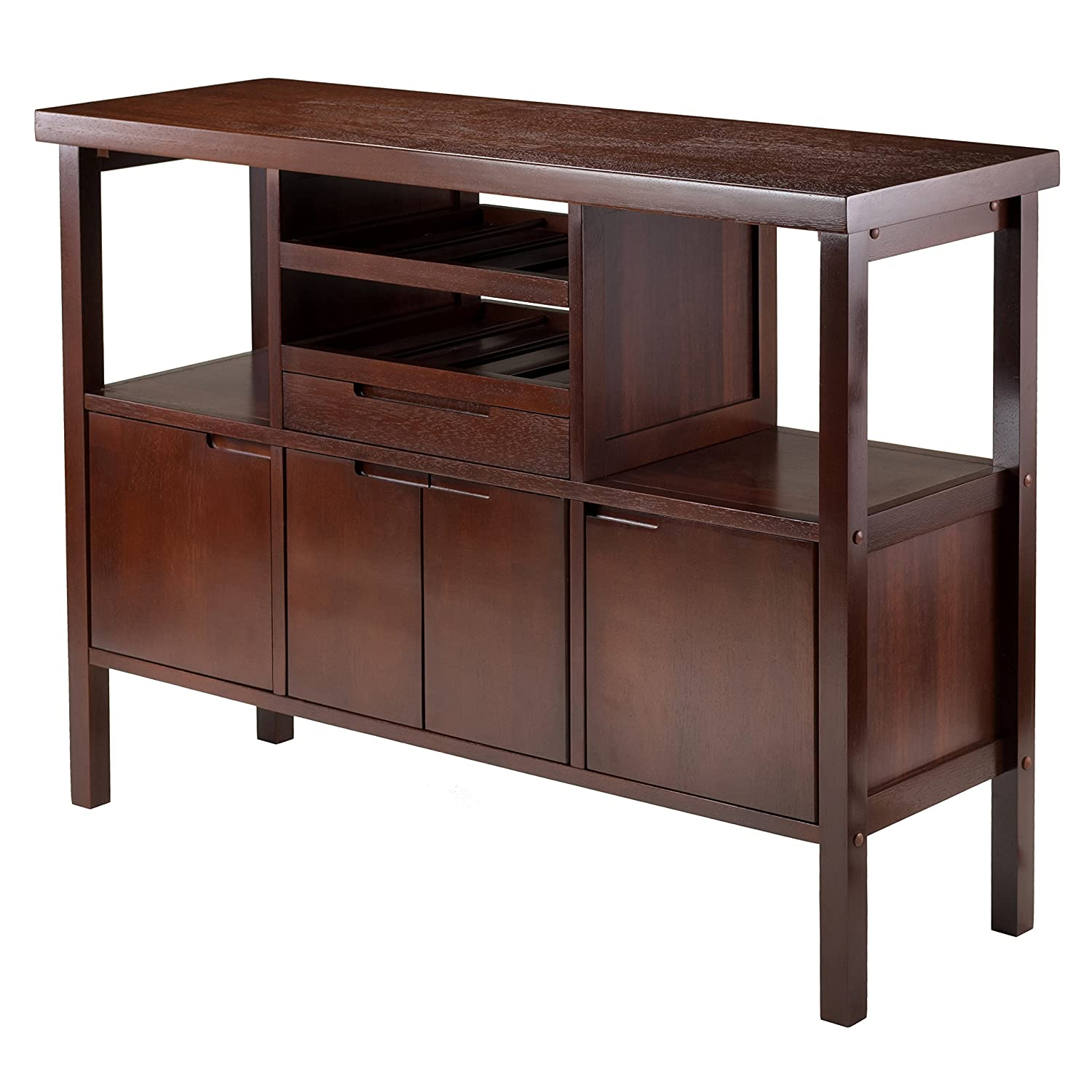 Winsome Diego Buffet-Sideboard Table - Brown