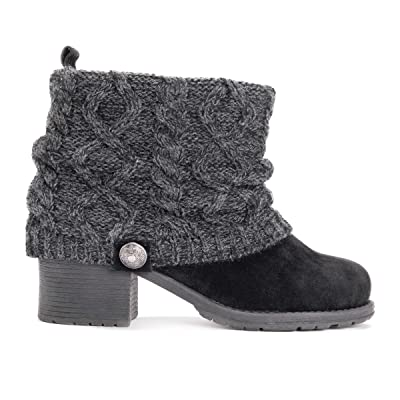 MUK LUKS Women's Haley Boots Ankle | Ankle & Bootie