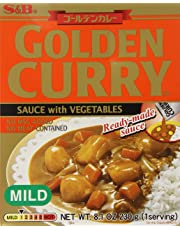 S&B Golden Curry Sauce with Vegetables - Mild, 230gm