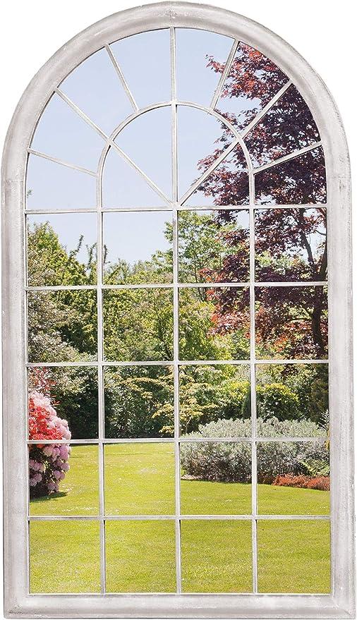 Espejo para ventana de jardín con arco georgiano: Amazon.es: Hogar