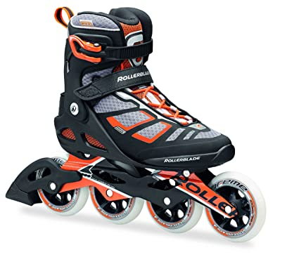 Rollerblade 16/17 Macroblade 100 Fitness/Workout Skate with 100mm Wheels, Black/