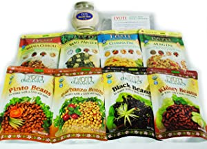 Outdoor Sustainer (Indian Foods Gift Bundle for Campers, Trail Hikers, and Travelers)