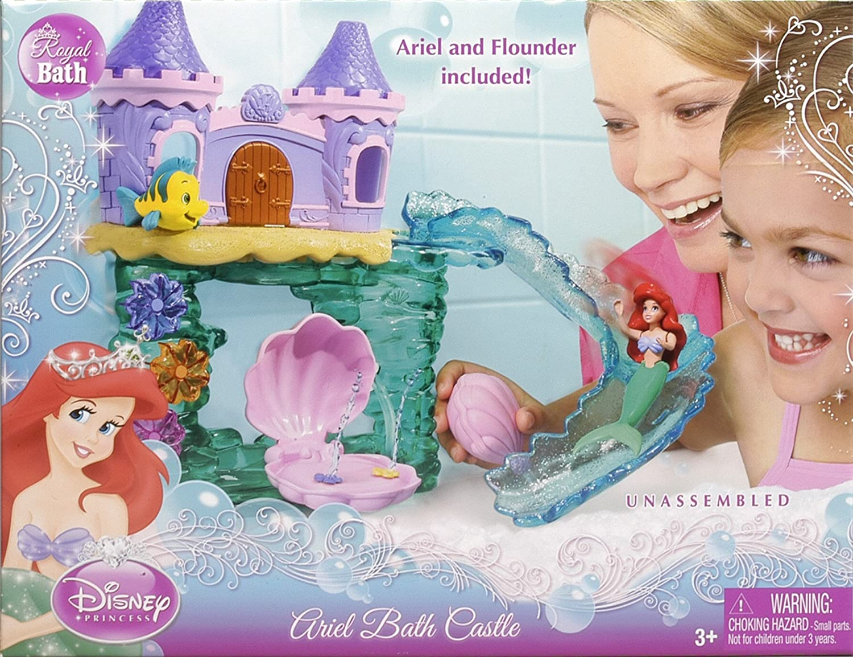 amazon com disney princess ariel bath castle toys u0026 games