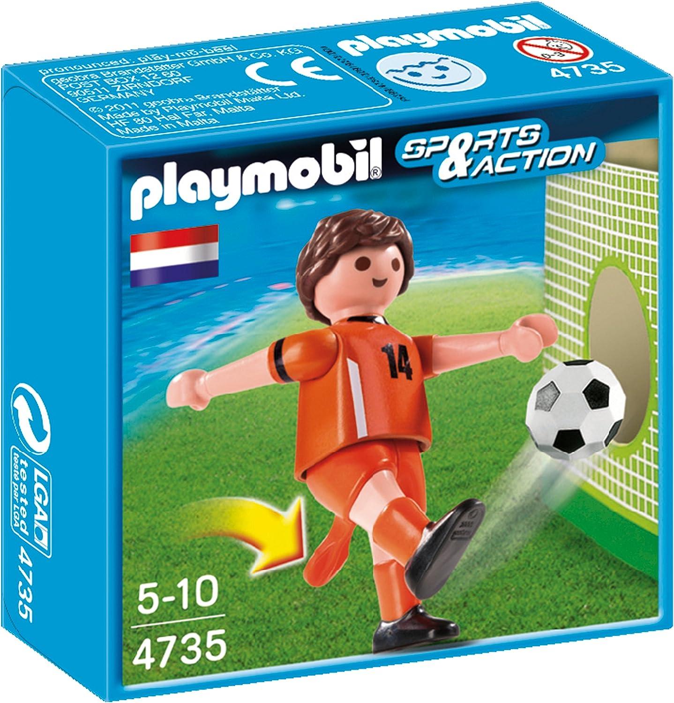 Playmobil Fútbol - Fútbol: Jugador Holanda (4735): Amazon.es ...