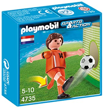 Playmobil 626675 - Fútbol Jugador Fútbol-Holanda  Amazon.es ... 7dd3f1f024d