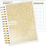 """The Path Planner 5.8 x 8.3"""": Daily Planner to Achieve Any Goal, Master Productivity, Business & Full Focus - Undated Agenda, Organizer Planner & Gratitude Journal for 2018 / 2019 + Pocket notebook"""