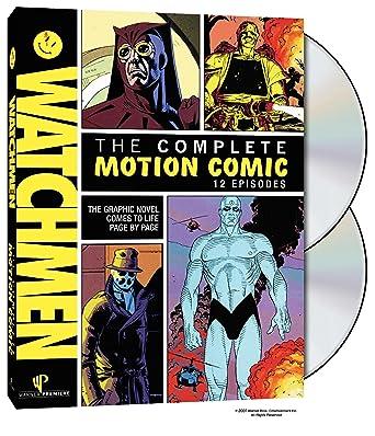 watchmen the complete motion comics online exclusive dvd 2008