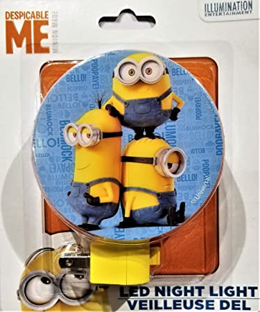 Amazon.com: Despicable Me Minion Fabricado luz de noche – 1 ...
