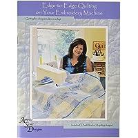 Amelie Scott Designs Edge-to-Edge Quilting on Your Embroidery Machine, 616913540337, Original Version, Original Version