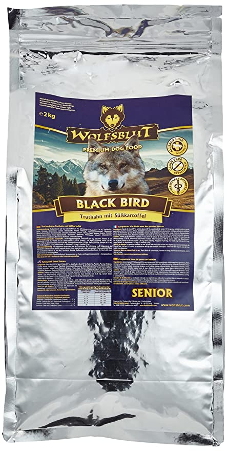 Wolf Black Bird sangre Large Breed, 1er Pack (1 x 2 kg)