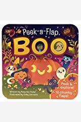 Boo: Peek-a-Flap Board Book Board book