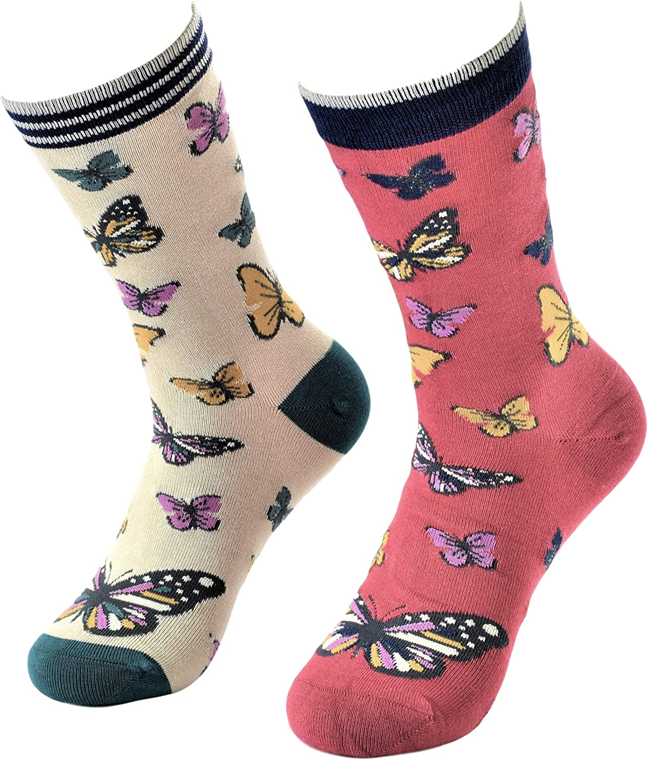 Assorted Socks Ladies Various Designs Soft High Quality Womans Size 4-7