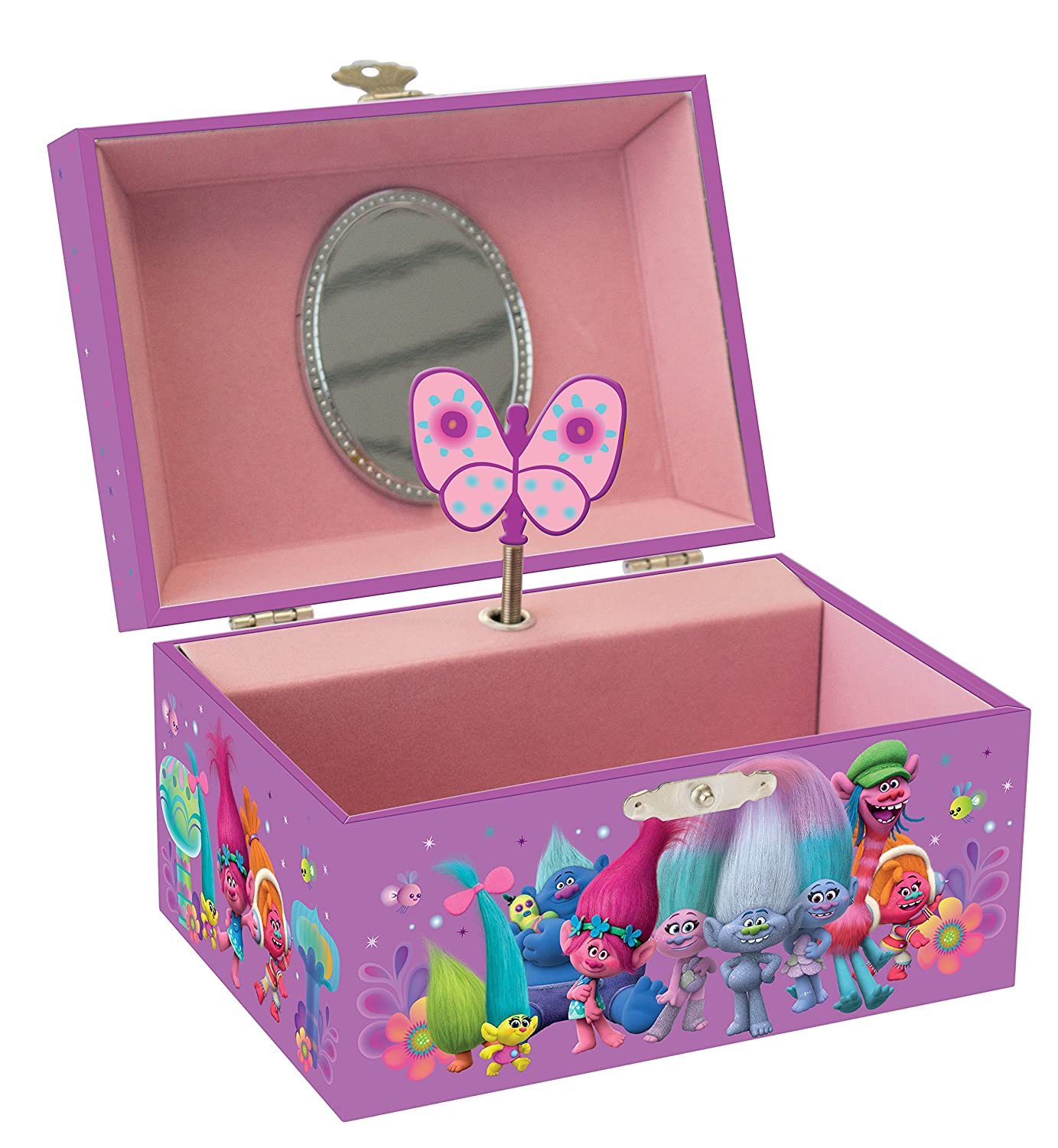 Joy Toy 67685 Trolls Jewellery Box with Music in Gift Wrap Joy Toy AG