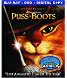 Puss in Boots (Two-disc Blu-ray/DVD Combo + Digital Copy)