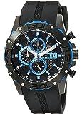 Burgmeister - BM535-632 - Montre Homme - Quartz - Analogique - Chronographe - Bracelet Silicone noir